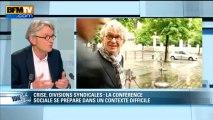Jean-Claude Mailly: l'invité de Ruth Elkrief - 21/05
