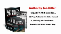 Authority Job Killer - Quit Your Job Today! | Authority Job Killer - Quit Your Job Today!