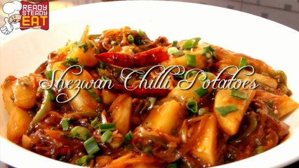 Schezwan Chilli Potatoes