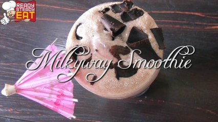 Chocolate Smoothie Recipe - With Milky Way Bars!