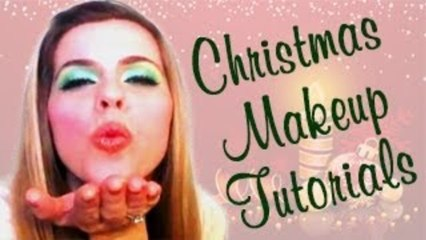 Christmas Makeup Tutorial - Party Look