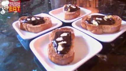 Chocolate Sea Salt Crostini Savoury Appetizer