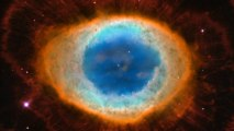 Zooming in on Messier 57, the Ring Nebula