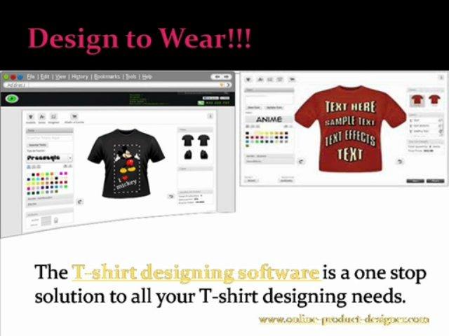 Design Custom T-shirts at Online Product Designer