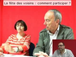 WebTV de la Carnière - La fête des voisin, comment ça marche ? mai 2013