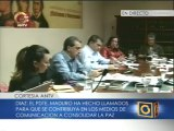 Diputados se pronuncian en la subcomisión de medios de la AN sobre restricciones