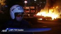 Suède: les incidents se multiplient à Stockholm et sa banlieue