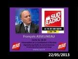 François Asselineau invité de SUD RADIO_Candidature Législative partielle du Lot-et-Garonne (22-05-2013)