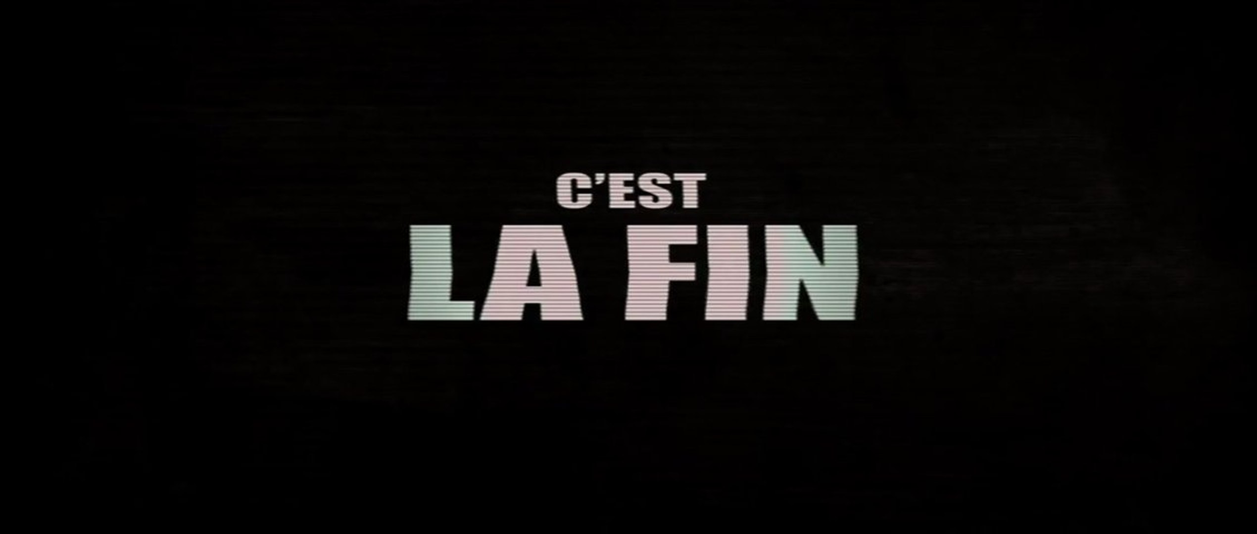 C'est la fin (This is the End) - Bande-Annonce / Trailer [VOST|HD1080p] -  Vidéo Dailymotion