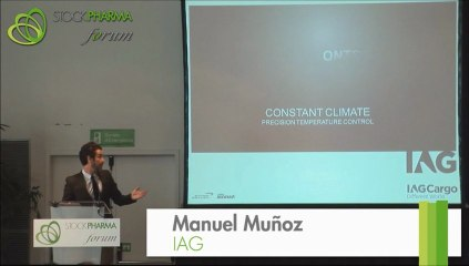 IAG - Manuel Muñoz e Inma Casafont en STOCKPHARMA forum