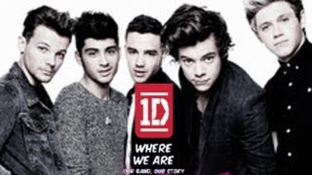 One Direction Book Cover - Where We Are