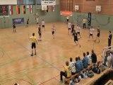 Kung-fu gardien - ailier Ulzburg Cup 2013 / Handball jeunes