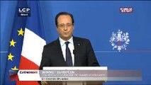 Évènements : Conférence de presse de François Hollande au sommet européen de Bruxelles
