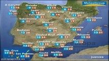 Previsión del tiempo para este jueves 23 de mayo