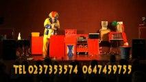 spectacle28.com fred clown magicien ballons sculptes,st pierre des nids,st denis de gastines