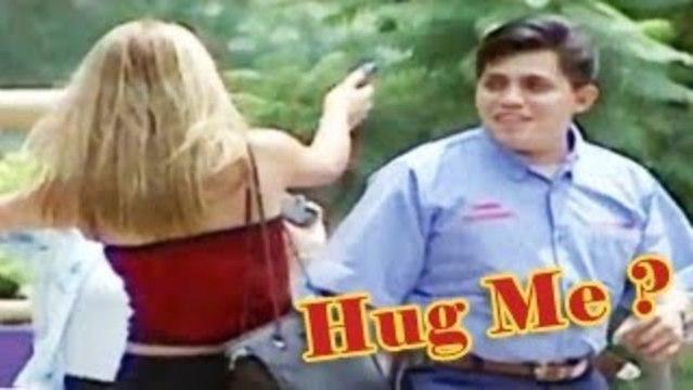 Hugging People Prank - Prank Attacks