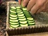 La tarte fine aux courgettes, noisettes  et parmesan de Caroline Rochet, journaliste