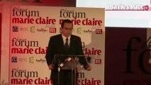 Jean-Paul Lubot, directeur général délégué du Groupe Marie Claire, ouvre le Grand Forum Marie Claire 2012
