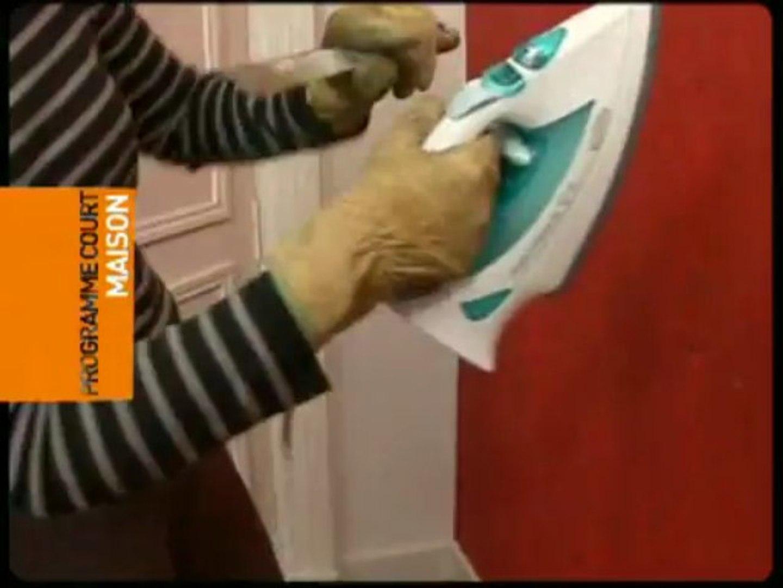 Astuce Pour Décoller Du Papier Peint comment décoller du papier peint avec un fer à repasser ?