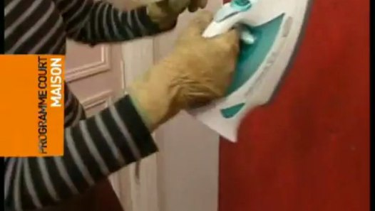 Comment décoller du papier peint avec un fer à repasser ? - Vidéo Dailymotion