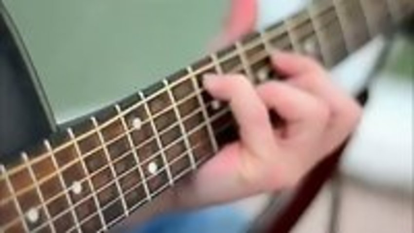 Guitar Strings And A High Speed Camera