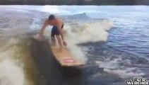 Methode russe pour faire du surf sans vagues (et sans planche de surf)