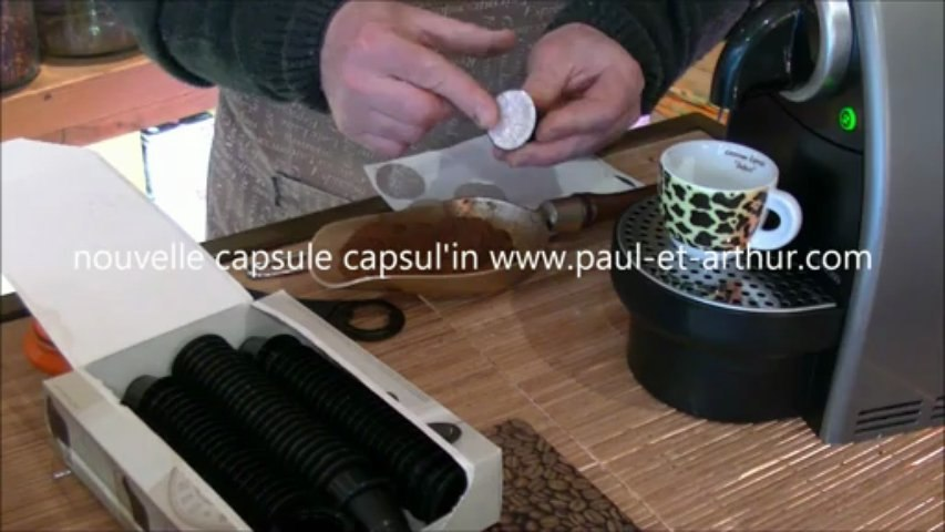 nouvelle capsule capsul'in mode d'emploi www.paul-et-arthur.com