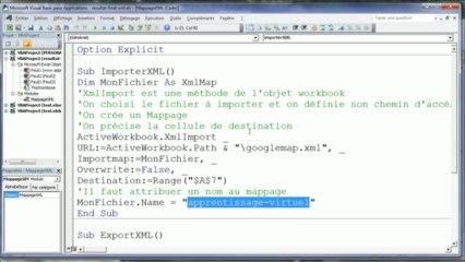 VBA Excel - Correction du TP 6