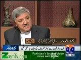 Major (R) Aamir in Jirga - 2  (GEO TV 18 Nov 2012)