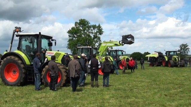 Démonstration CLAAS - Tracteurs et Fenaison