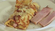 How to Make Crepes : Ham and Cheese Crepes