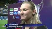 Ligue des champions dames: victoire de Wolfburg, Lyon battu