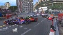GP2 Monaco 2013 Race 1 Massive crash start