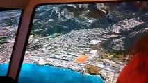 Passage sur Marseille, les Goudes, la Pointe Rouge sur simulateur de vol