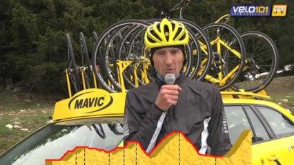 Reconnaissance Etape du Tour 2013 Annecy - Le Semnoz