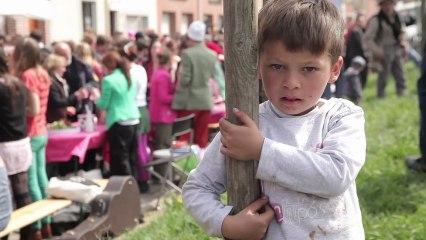 Fête de la soupe 2013, les enfants de l'école Lamartine.