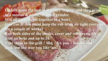 Southwest Cinnamon Steak Rub - Recipe