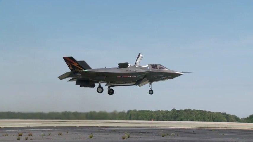 F-35 Décollage Vertical