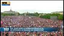 """Barjot: """"c'est la fin du temps des manifestations (…) la Manif pour tous a fait son temps"""" - 26/05"""