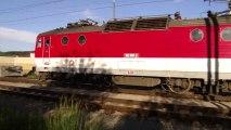 Lokomotiva 162 001-2 a jednotka 671 005-7/971 005-4 - Kysucké Nové Mesto, 21.5.2013 HD