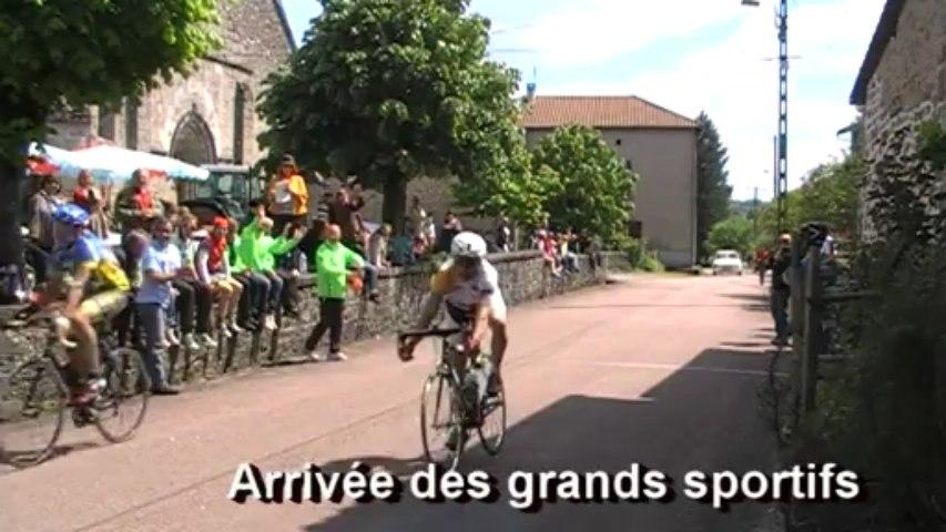 26 mai 2013 Course cycliste Saint-Estèphe grands sportifs et 3ème catégorie