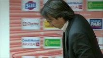 Conférence de presse Stade Brestois 29 - AS Nancy-Lorraine :  (SB29) - Patrick GABRIEL (ASNL) - saison 2012/2013