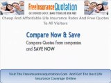 Cheap And Affordable Life Insurance Rates And Free Quotes To All Visitors
