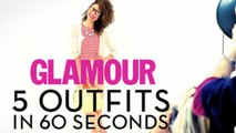 5 Outfits in 60 Seconds - 5 Work Outfit Ideas in 60 : What to Wear to the Office this Summer