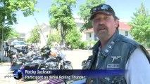 USA: défilé de motards en l'honneur des anciens combattants