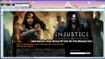 Injustice Gods Among Us Lobo Character Dlc Redeem Codes - Xbox 360,PS3