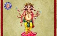 Sukhkarta Dukhharta - Ganesh Aarti with Lyrics - Marathi Devotional Songs