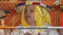 Au Maroc, le printemps se fête à cheval