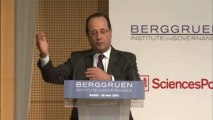 François Hollande au Forum Europe Next Steps