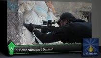 """""""Guerre chimique à Damas"""" : le Top Médias du 28 mai 2013"""